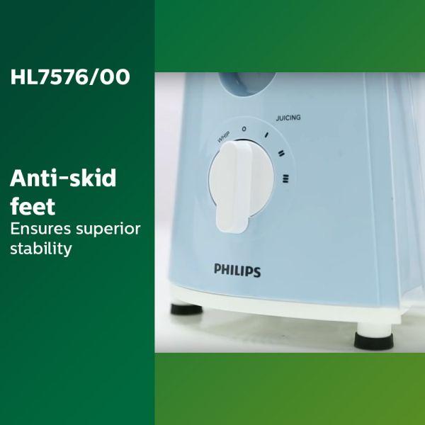 Philips Juicer Mixer Grinder Amaze HL7576/00 600-Watt  - 4 Jars