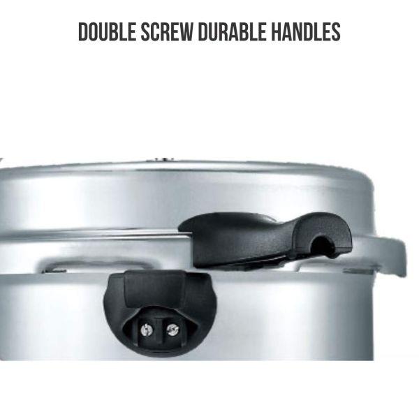 Prestige Popular Plus Induction Base Pressure Cooker - 8 L