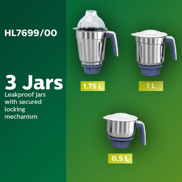 Philips Mixer Grinder  HL7699