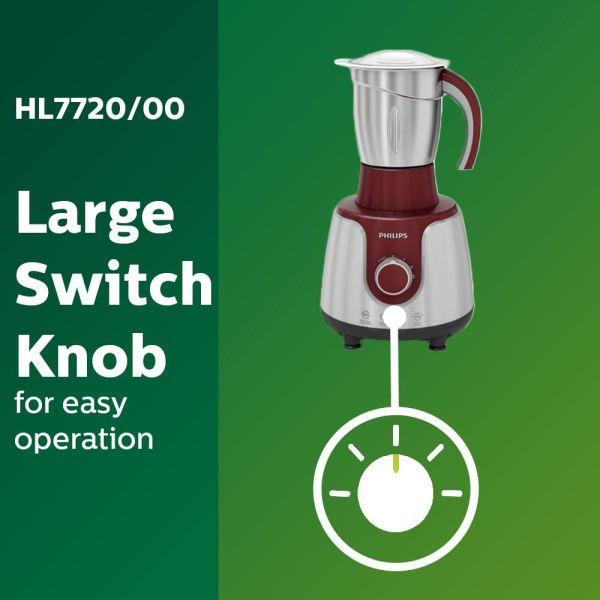 Philips Mixer Grinder HL7720 -750Watts - 3 Jar