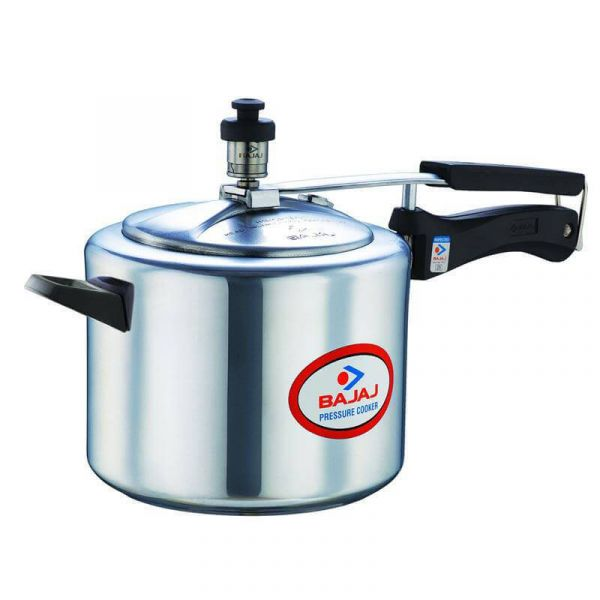 Bajaj PCX Aluminium 5 lPressure Cooker
