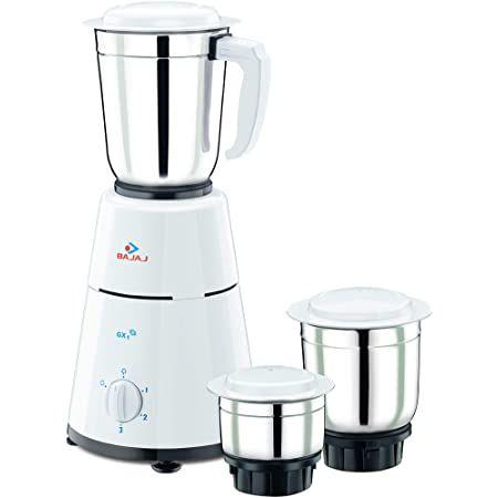 Bajaj Mixer Grinder  GX1 - 500 Watt 3 Jars