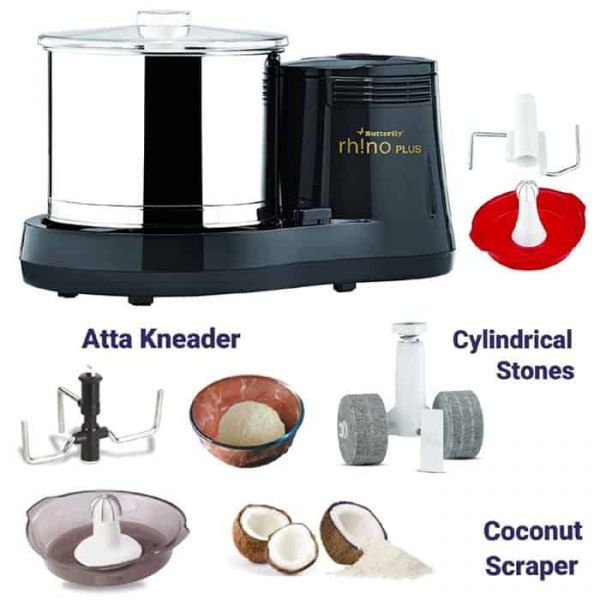 Butterfly Table Top Wet Grinder Rhino Plus -2 litre