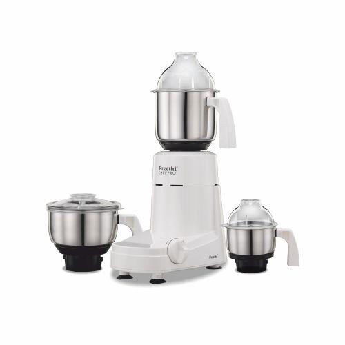 Preethi  Mixer Grinder Chefpro MG 128 - 3 Jars 750 Watt