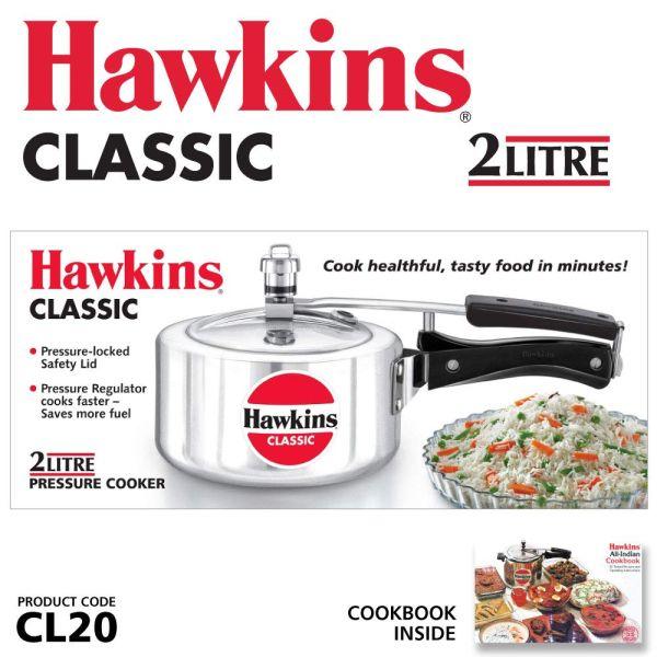 Hawkins Classic Pressure Cooker 2 L