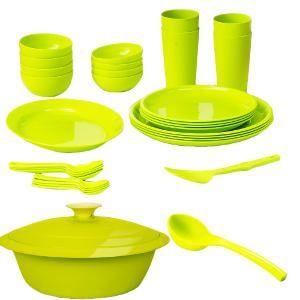 Cutting Edge 32 Pc Dinner Set - In 2 Colours
