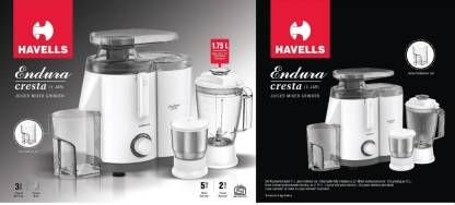 Havells Juicer Mixer Grinder Endura 2J