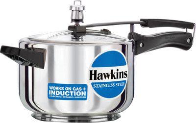 Hawkins Stainless Steel Pressure Cooker 4 L