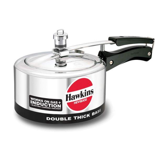 Hawkins Pressure Cooker Hevibase Induction Compatible - 2 L