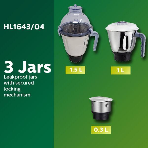 Philips Mixer Grinder HL1643/04