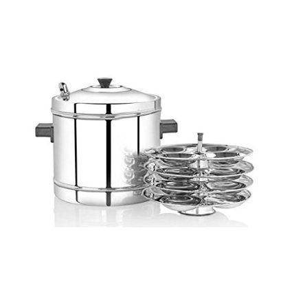 Premier Idli Cooker  Stainless steel racks
