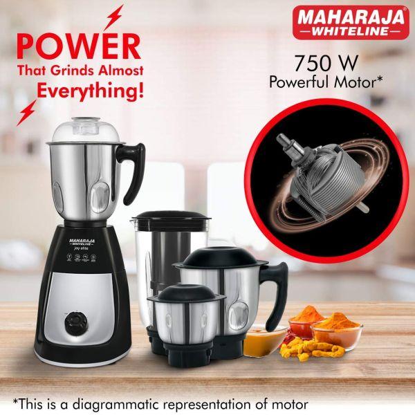 Maharaja Whiteline  Mixer Grinder  Joy Elite