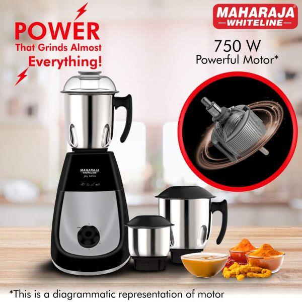 Maharaja Whiteline   Mixer Grinder Joy Turbo