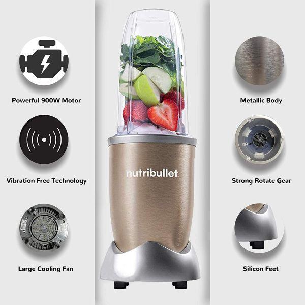 Nutribullet Mixer Speed Blend PRO High - 900W-12PcsSet
