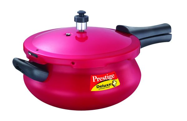 Prestige Deluxe Plus Mini Handi Red 3L