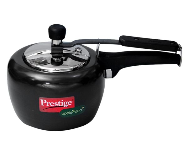 Prestige Pressure Cooker Hard Anodised  Apple Duo Plus - 5 L