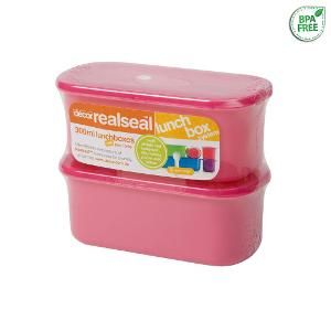 Realseal Lunchbox, 300 ml, set of 2