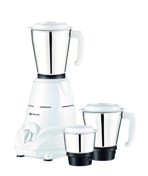 Bajaj Mixer Grinder Rex 3 Jars - 500-Watt