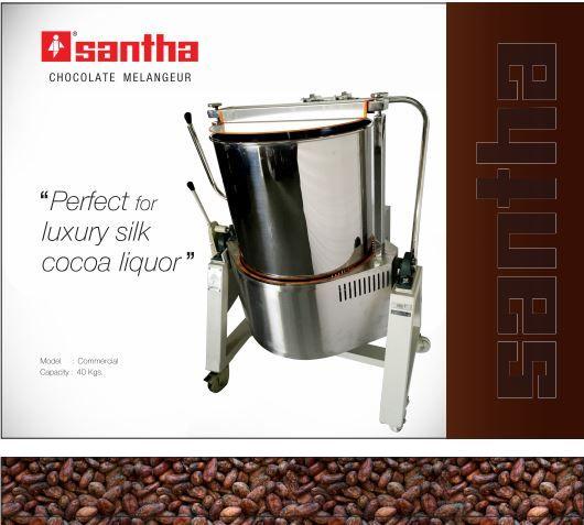 Santha Wayo 100 Chocolate Melangeur with Speed Controller