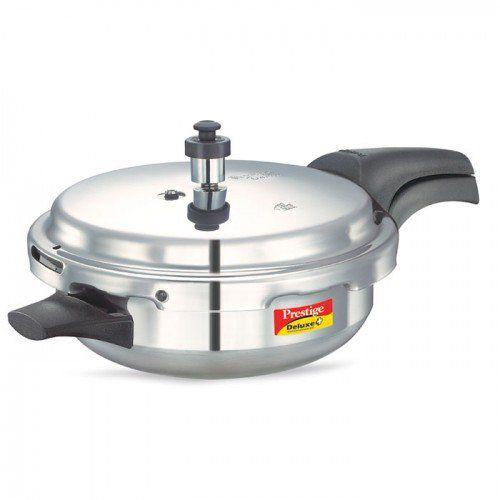 Deluxe Plus Aluminium 3.1 Litre Junior Pressure Pan with Lid