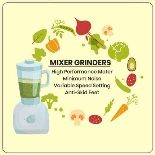 Sujata Juicer Mixer Grinder Supermix - 600 Watts
