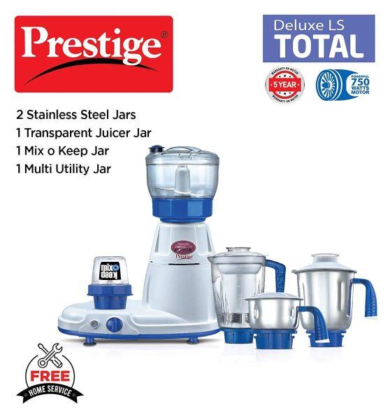 Prestige Mixer Grinder Deluxe Total LS