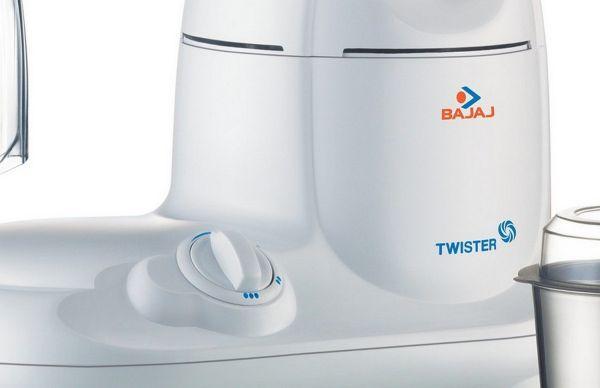 Bajaj Mixer Grinder Twister 3 Jars - 750-Watt