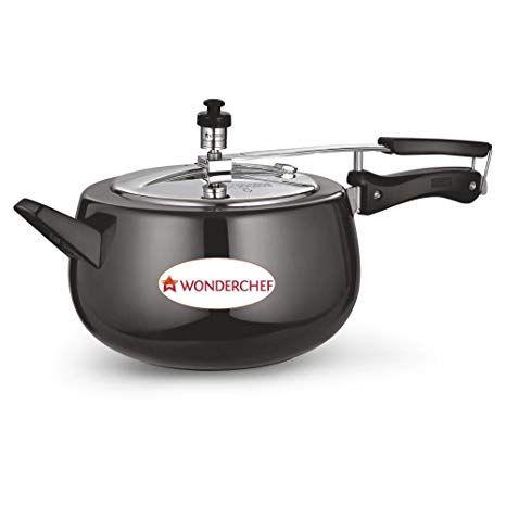 Wonderchef Raven  Aluminium Pressure Cooker 5 litres
