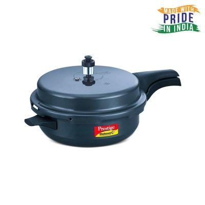 Prestige Deluxe Plus Hard Anodized 5.4 Litre Senior Pressure Pan with Lid
