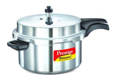 Prestige Deluxe Plus Aluminium Pressure Cooker 7.5 Litre