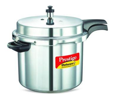 Prestige Pressure Cooker Aluminium Deluxe Plus -  10 Litres