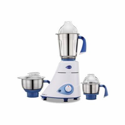 Preethi Mixer Grinder Blue Leaf Gold  - 3 Jars 750 Watt