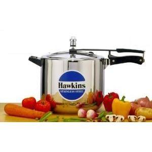 Hawkins Futura Stainless Steel 10 L Pressure Cooker - D40