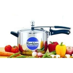 Hawkins Futura Stainless Steel 6 L Pressure Cooker - B65