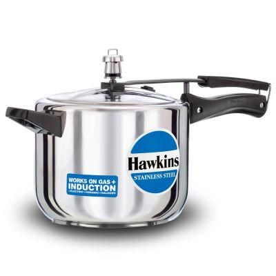 Hawkins Stainless Steel Pressure Cooker - 5 Litres