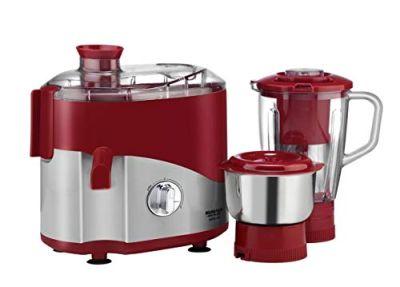 Maharaja Whiteline Juicer Mixer Odacio Dlx 2 Jars - 550W