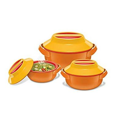 Milton Microwow Insulated Casserole Gift, Set of 3