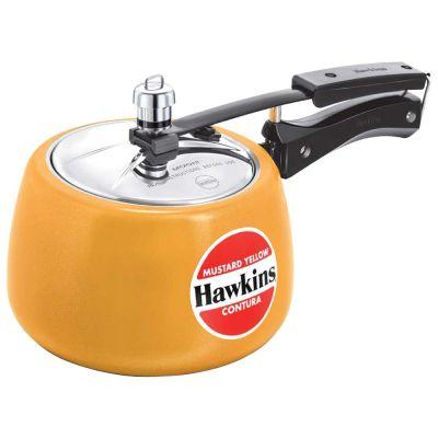 Hawkins Pressure Cooker Contura Mustard Yellow - 3L