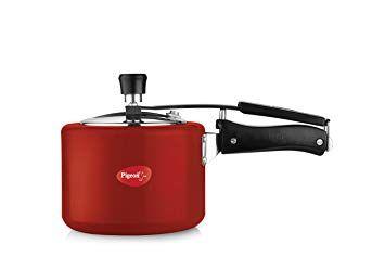 Pigeon AluminiumPressure cooker  3 Litres, Red