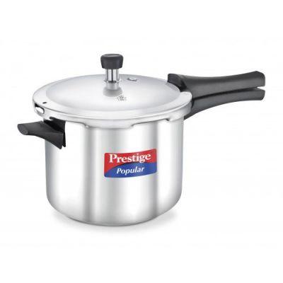 Prestige Popular Stainless Steel Pressure Cooker 5 L