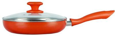 Prestige Ceramic Coated Fry Pan with Glass Lid - 35110