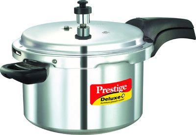 Prestige Deluxe Plus Pressure Cooker 5 L
