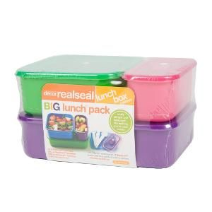 Realseal Big lunch pack 4 piece