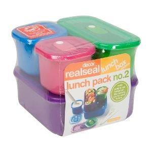 Realseal Lunch pack no. 2, 5 piece