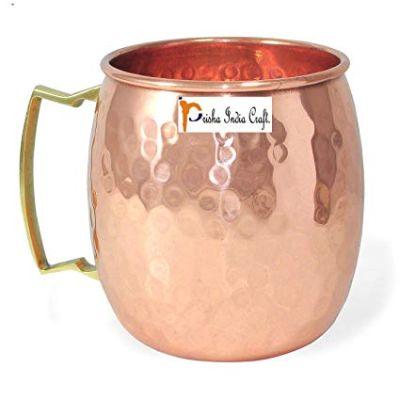 ShalinIndia Copperware  Drinkware Copper Mugs