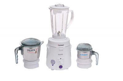 Sujata Juicer Mixer Grinder Supermix - 600 Watt 3 jars
