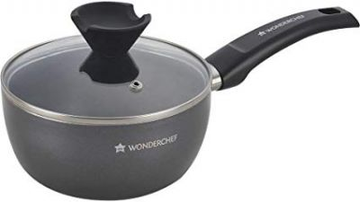 Wonderchef Everest Aluminium Sauce Pan with Lid