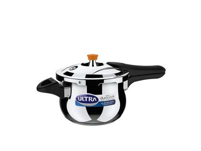 ULTRA DURACOOK Composite Base  Handi Pressure Cooker  - 3 Litres